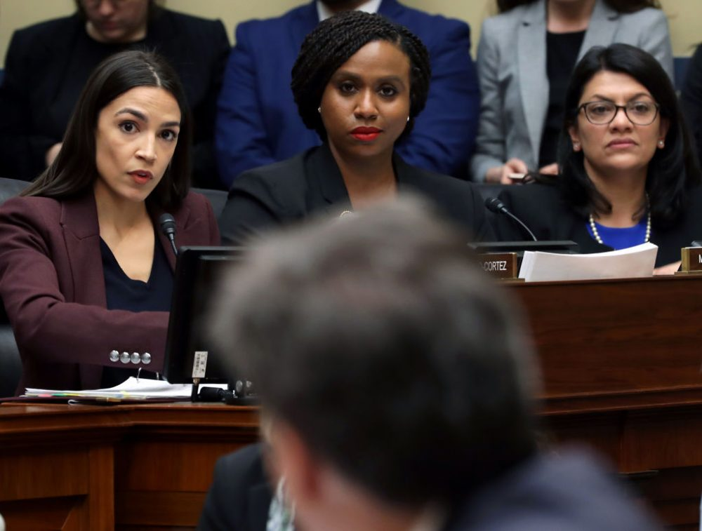 "AOC and the rest of The Squad called out Trump's racist tweets: ""We're not going anywhere"""