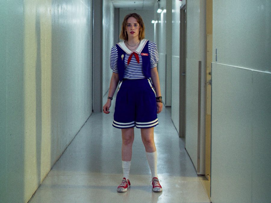 "We already found your Halloween costume: <em>Stranger Things</em> ""Scoops Ahoy"" uniforms"
