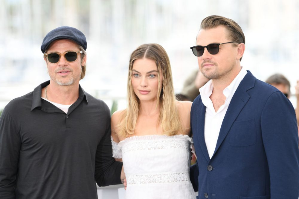 Brad Pitt and Margot Robbie have questions for Leonardo DiCaprio about THAT <em>Titanic</em> scene
