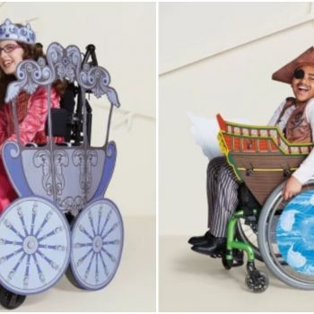 Target has a line of wheelchair-adaptive Halloween costumes, and we're loving these inclusive offerings