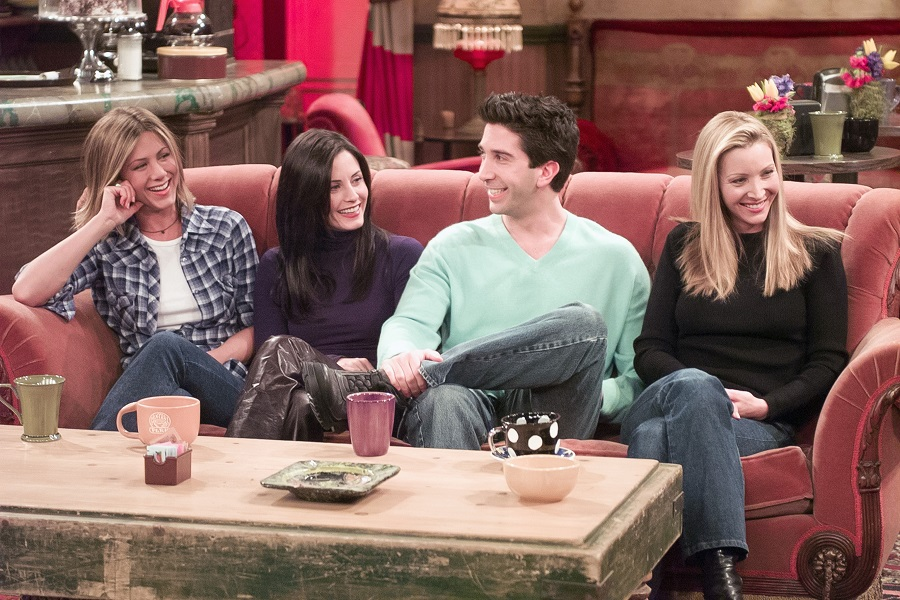 This coffee shop is channeling Central Perk with <em>Friends</em>-themed drinks, and we need The Chandler