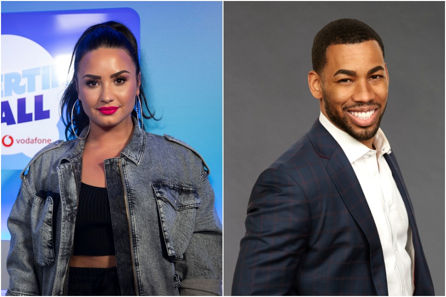 Demi Lovato and this <em>Bachelorette</em> contestant are flirting—could they follow Sarah Hyland and Wells Adams' lead?