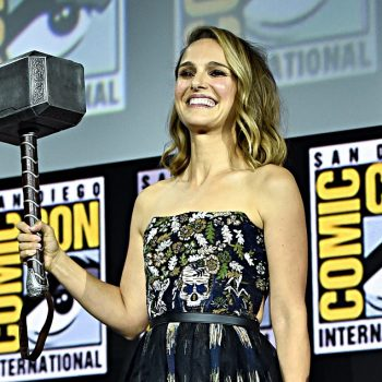 Natalie Portman will play Thor in the new Marvel movie, and fans are so excited she's taking up the hammer