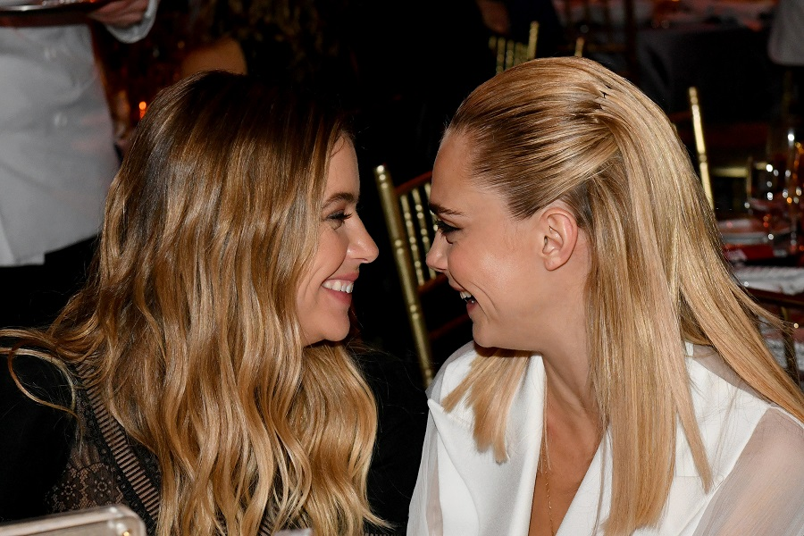 Ashley Benson has a new tattoo in honor of girlfriend Cara Delevingne, and we have heart eyes