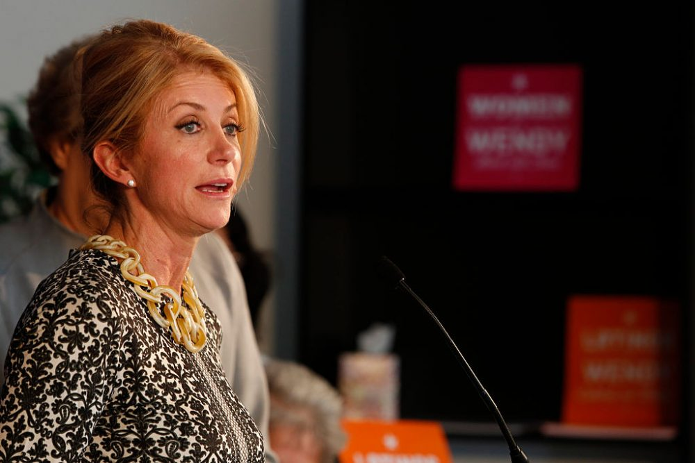Wendy Davis, known for her 13-hour anti-abortion bill filibuster, is running for Congress
