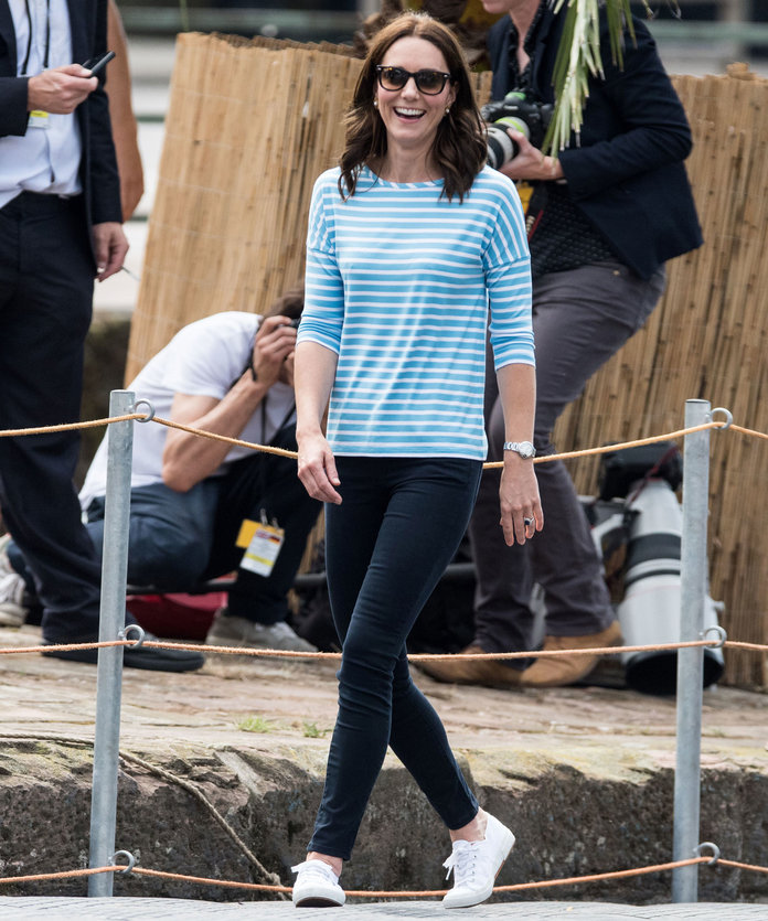 Kate Middleton's go-to sneakers are on sale right now, so it's time to add them to cart