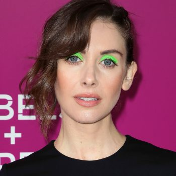 Friday Faces: Neon green eyeliner is the surprisingly versatile trend we're loving