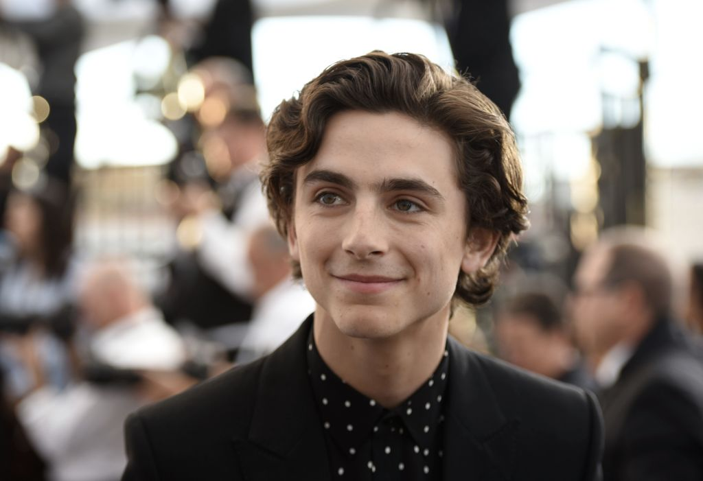 Timothée Chalamet is rocking a bowl cut in his new movie, and Twitter doesn't know how to feel