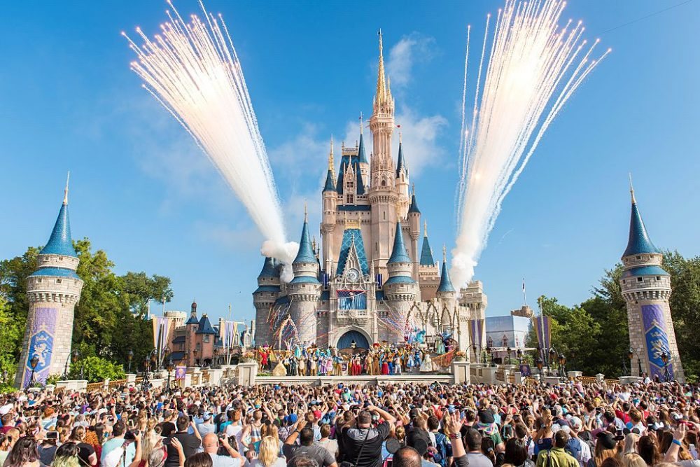 An angry mom said childless millennials should be banned from Disney parks, and Twitter has thoughts
