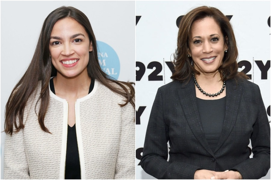 AOC and Kamala Harris joined forces for a climate change bill that benefits low-income communities