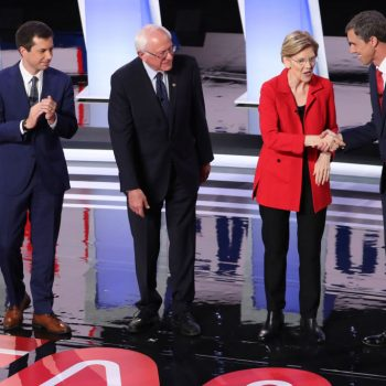 The top 5 biggest moments from last night's Democratic debate