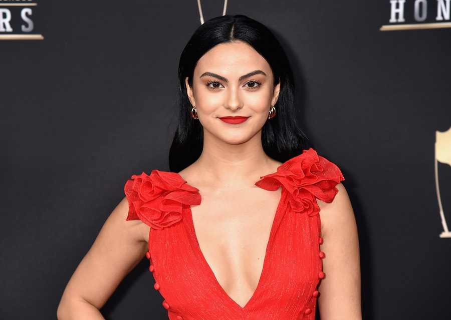 Camila Mendes is trading Veronica for Betty Cooper vibes with her new blonde look