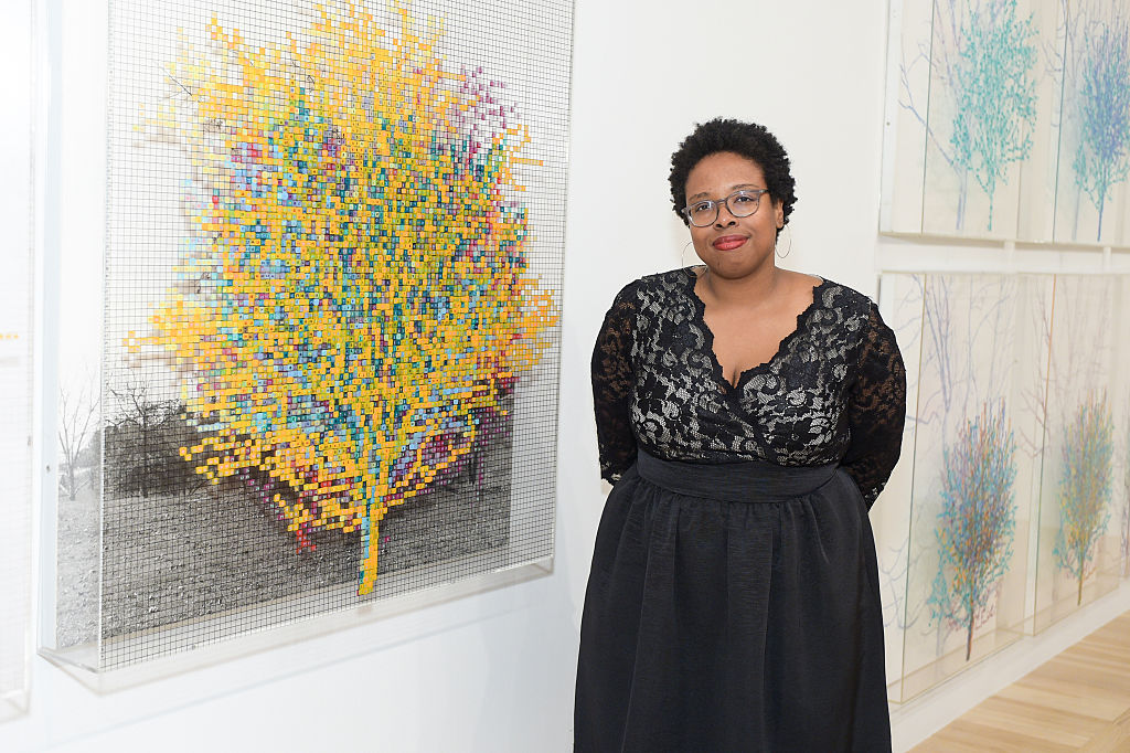 Jamillah James at the Hammer