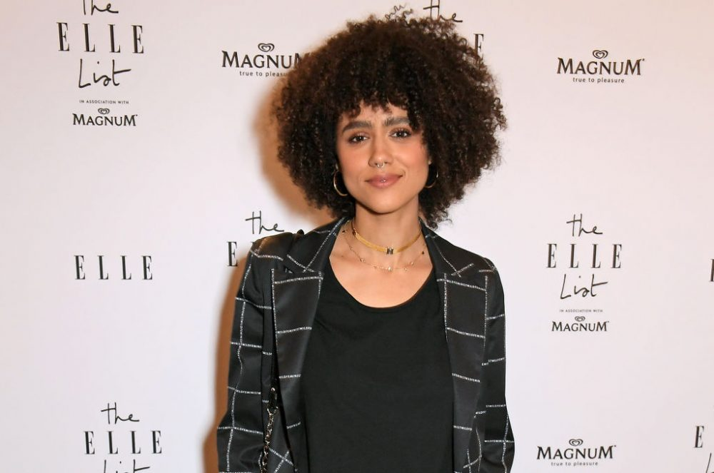 Nathalie Emmanuel drops a Meghan Markle Easter egg in <em>Four Weddings and a Funeral</em>—here's why