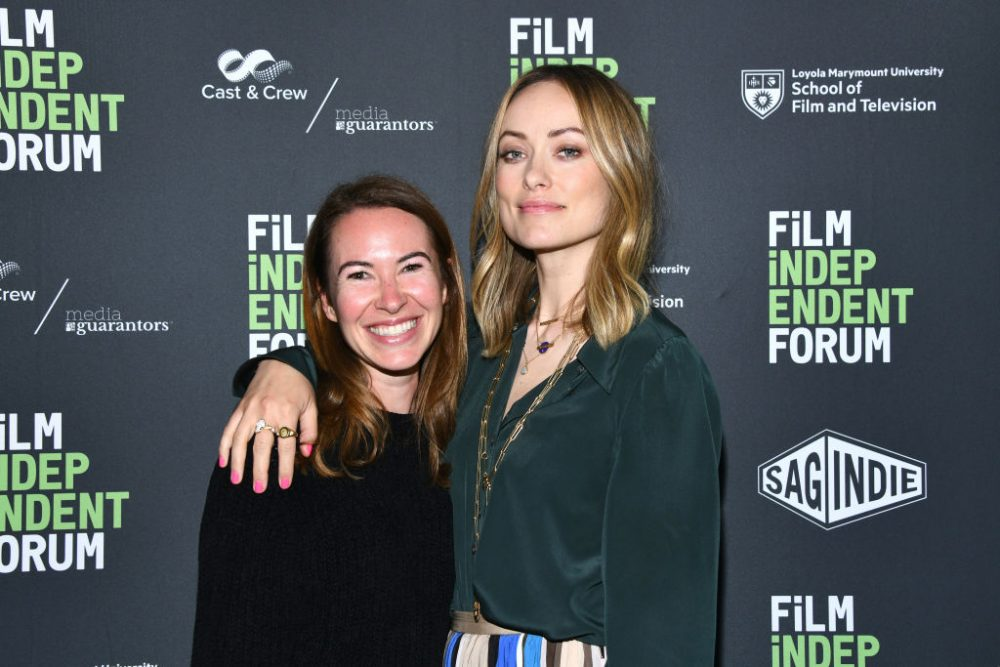 Olivia Wilde is reuniting with <em>Booksmart</em> writer Katie Silberman for a much, much different kind of movie