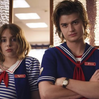 Robin and Steve almost had a very different relationship on <em>Stranger Things</em>, and we're so glad they didn't