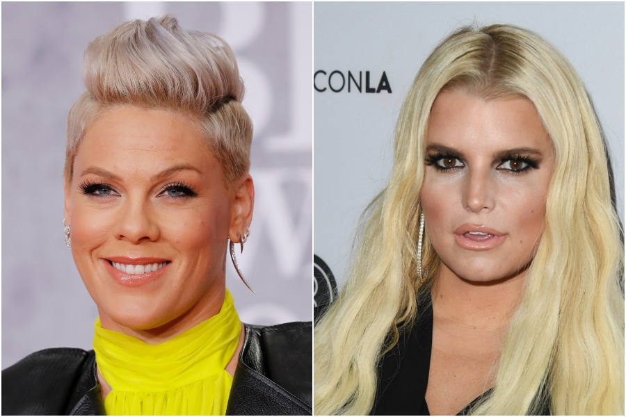 Pink just clapped back at mom-shamers coming for Jessica Simpson, and we stan