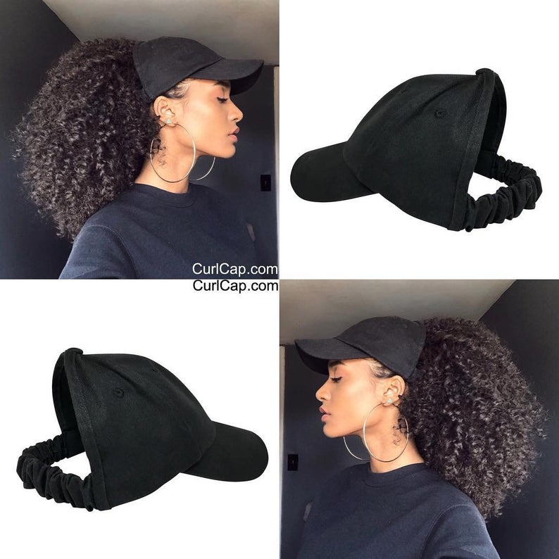 CurlCap-Satin-Lined-Baseball-Cap