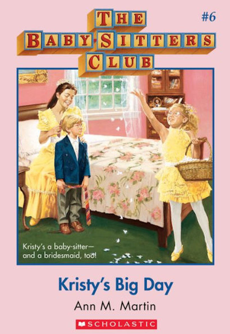 cover of Kristy's Big Day from The Baby-Sitters Club