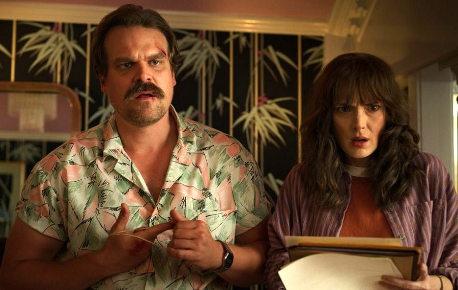 Um, did David Harbour just spoil Hopper's fate on <em>Stranger Things</em>?