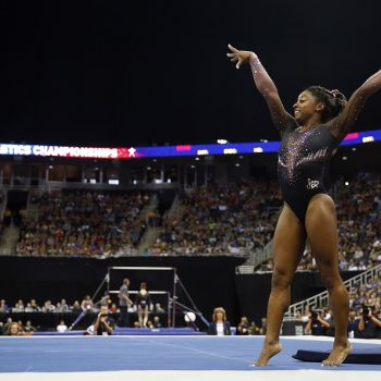 If you haven't watched Simone Biles's TWO historic gymnastic routines, you need to now