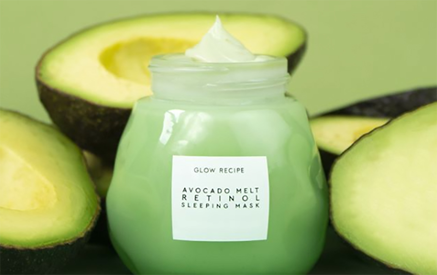 This cult-favorite skin care brand is selling avocado face masks, and now we're craving guac
