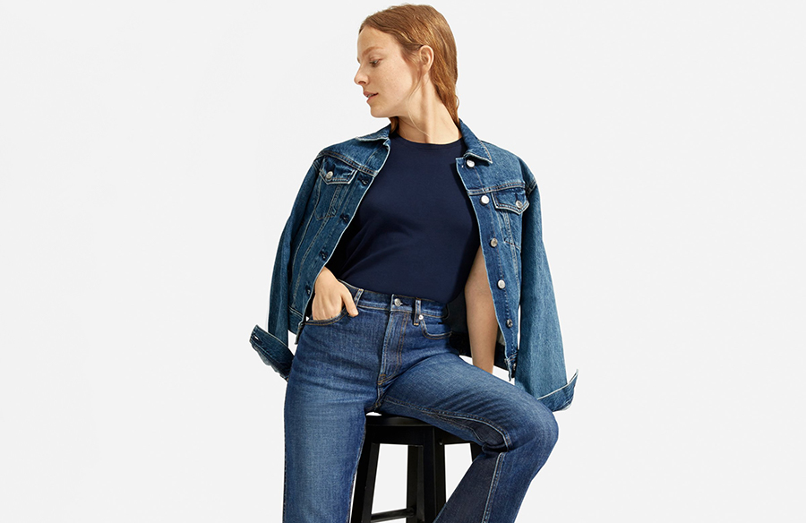 Everlane's newest jeans give me a peach emoji butt, and I'm never taking them off