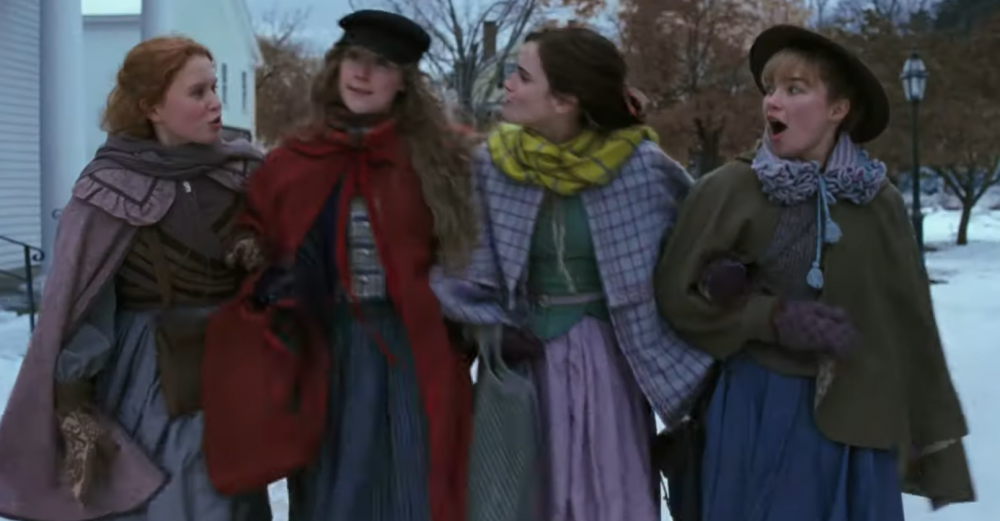 The <em>Little Women</em> trailer is officially here, and fans are swooning over Jo and Laurie