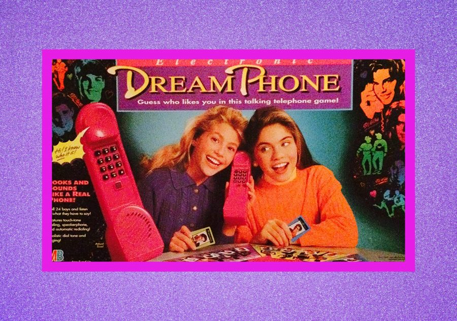 Hey '90s kids, can we please talk about that board game, Dream Phone?