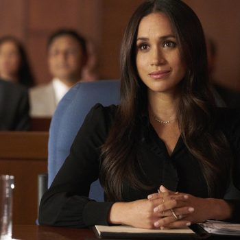 Meghan Markle just got a funny shout-out on <em>Suits</em>, and we love this meta moment
