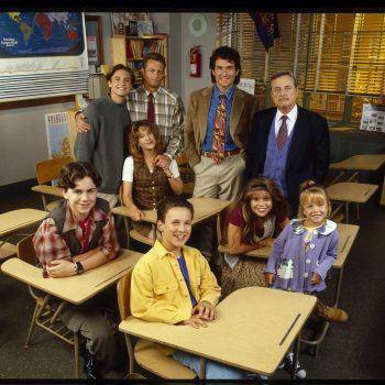 "The <em>Boy Meets World</em> cast reunited, and the pics will make you yell ""Feeny!"""