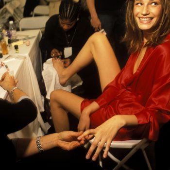 French manicures are back and—hear us out—they're actually really cool now