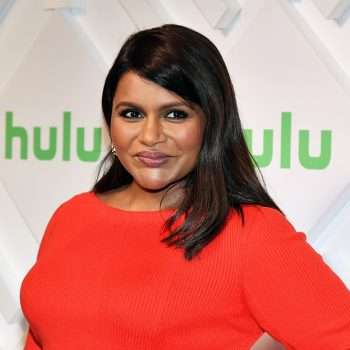 Mindy Kaling just shared a rare photo with her daughter, and we love their #twinning moment