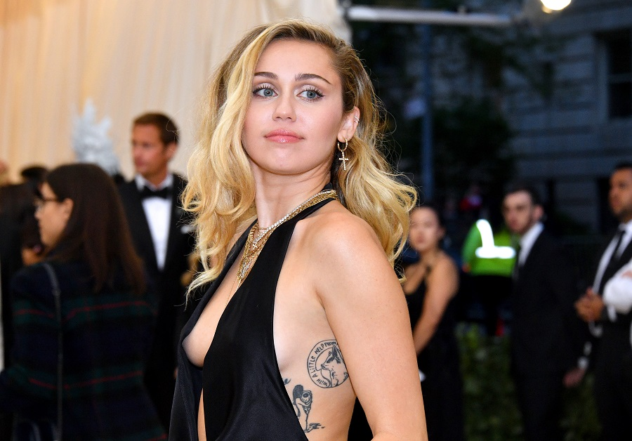 Miley Cyrus's new tattoo brings her ink total to 30+—yes, really