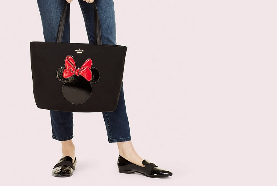 Kate Spade's new Minnie Mouse collection has us feeling like kids again