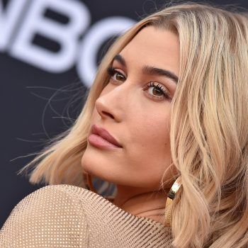 Hailey Bieber's '70s-inspired haircut might actually convince us to get bangs