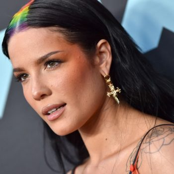 Halsey's natural curls looked gorgeous on the 2019 Emmys red carpet