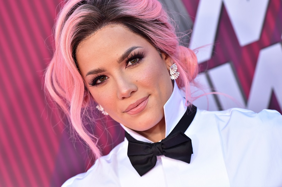 If it's even possible, we love Halsey's rainbow roots even more than her rainbow bangs thumbnail