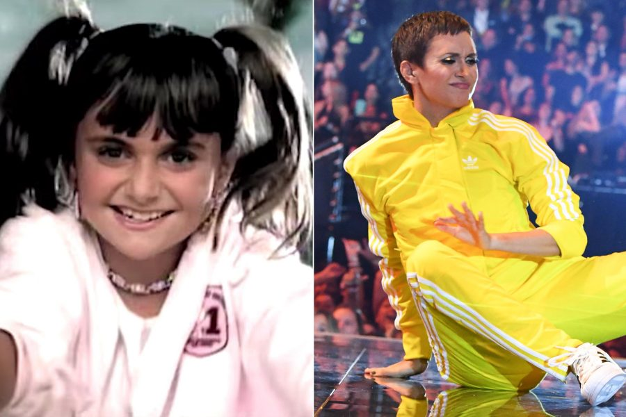 "Missy Elliott brought out Alyson Stoner, the girl from the ""Work It"" music video, during her epic VMAs medley performance"