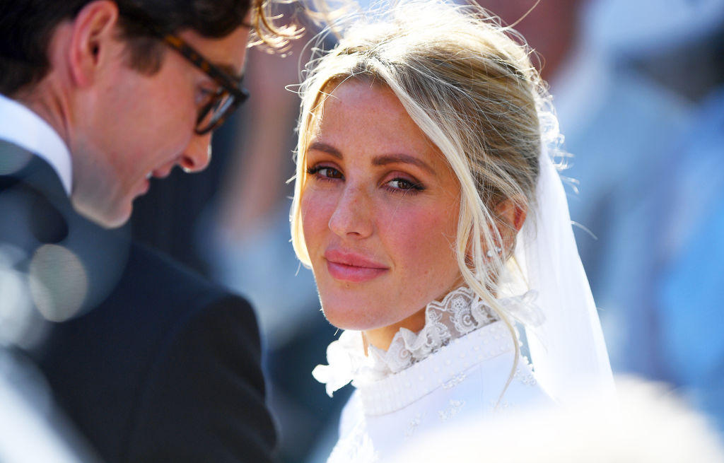 Ellie Goulding is married, and her wedding dress is an absolute dream