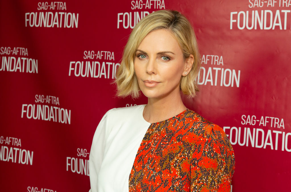 Charlize Theron got a bowl cut, and she looks surprisingly chic