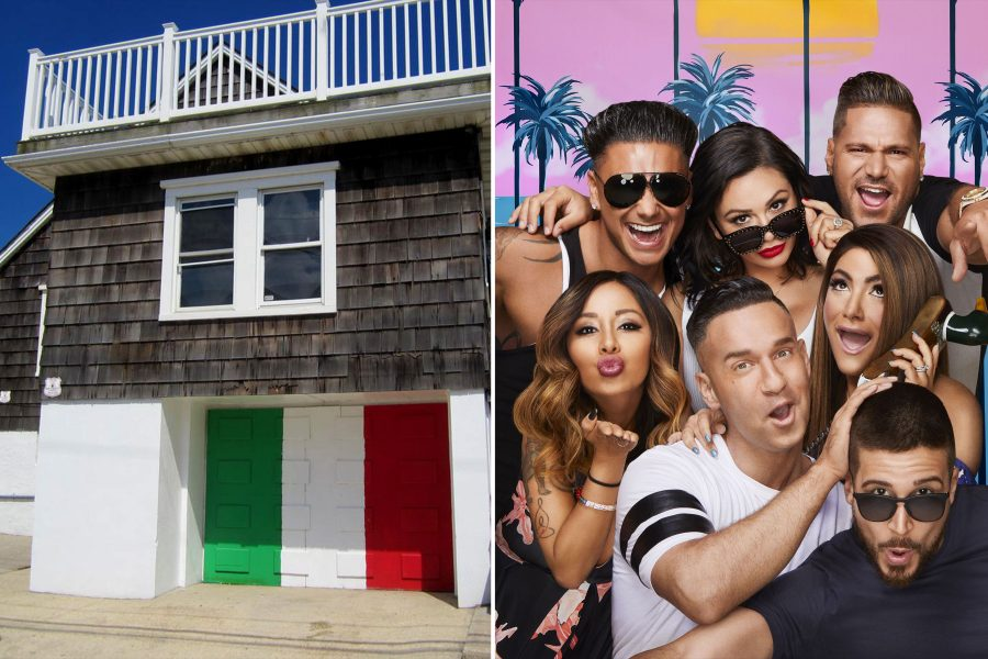 Start fist pumping—you can now stay in the exact beach house where <em>Jersey Shore</em> was filmed