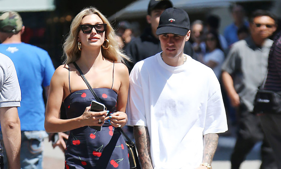 Hailey Bieber has this dress in three colors, and it's majorly on sale right now