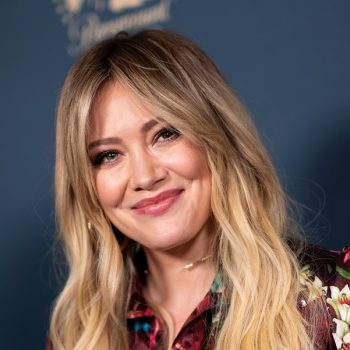 Hilary Duff brought back her <em>Lizzie McGuire</em> bangs, so now it's really time to get excited