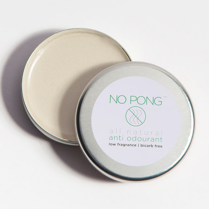 No Pong natural deodorants for sensitive skin