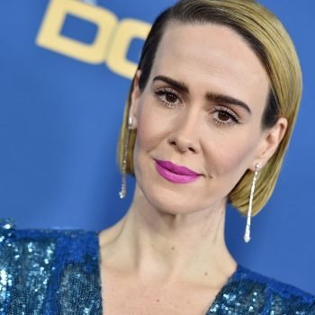 Um, so Sarah Paulson just dropped a bomb about <em>American Horror Story: 1984</em>