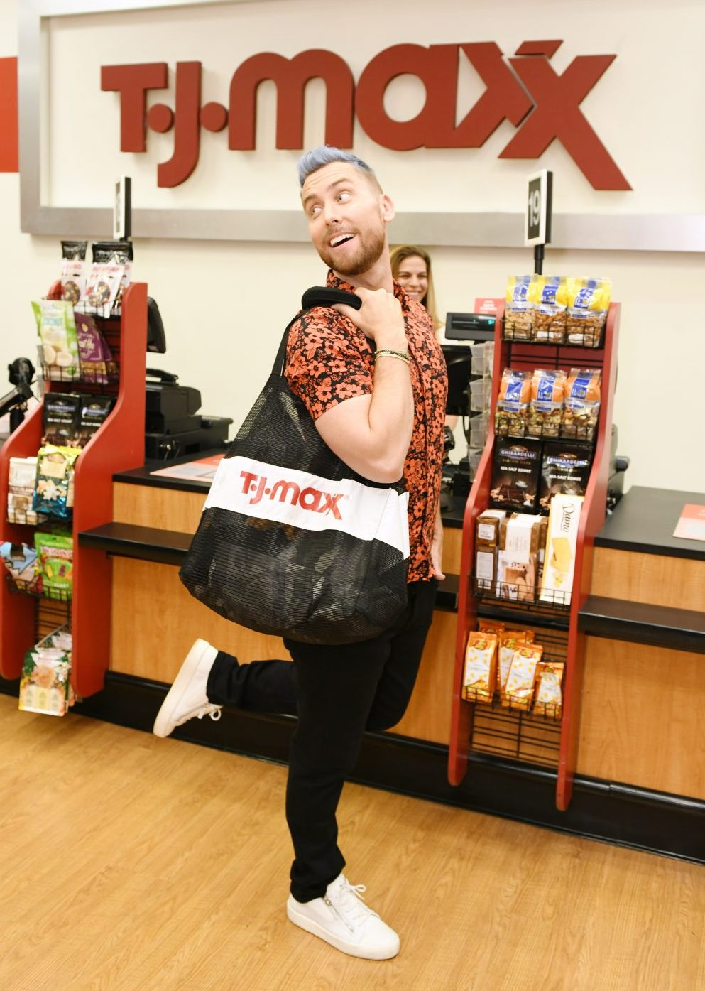 Lance Bass at TJ Maxx