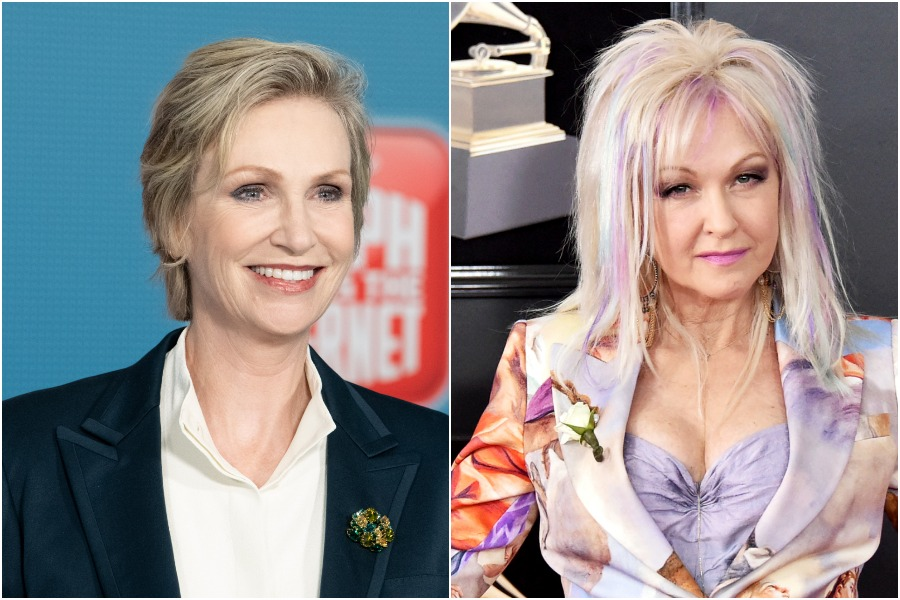 "Cyndi Lauper and Jane Lynch are starring in a ""<em>The Golden Girls</em> for today"" show for Netflix"