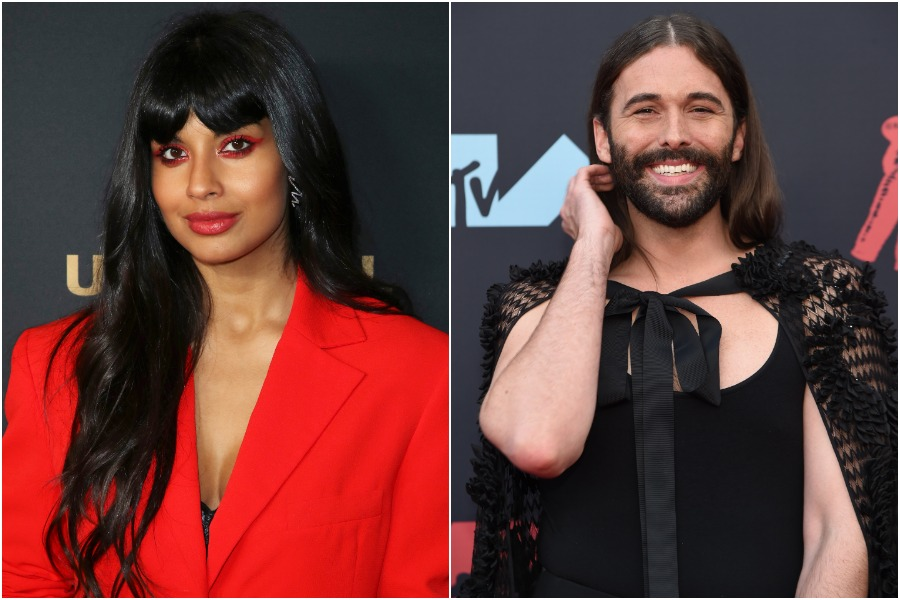 Jameela Jamil had the best response to her twinning moment with Jonathan Van Ness