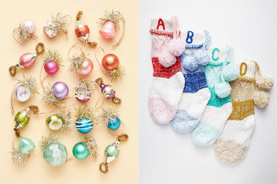Anthropologie just dropped chic new holiday decorations, and we're ready to deck the halls